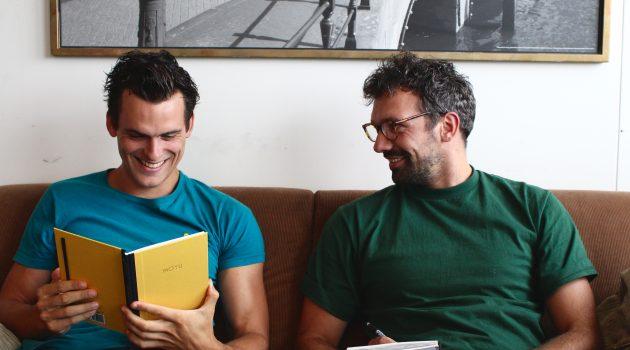 Roel en Paul van MOYU