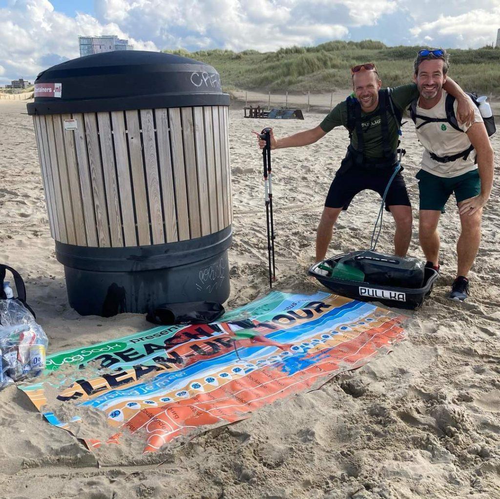 Plogsack beach cleanup tour