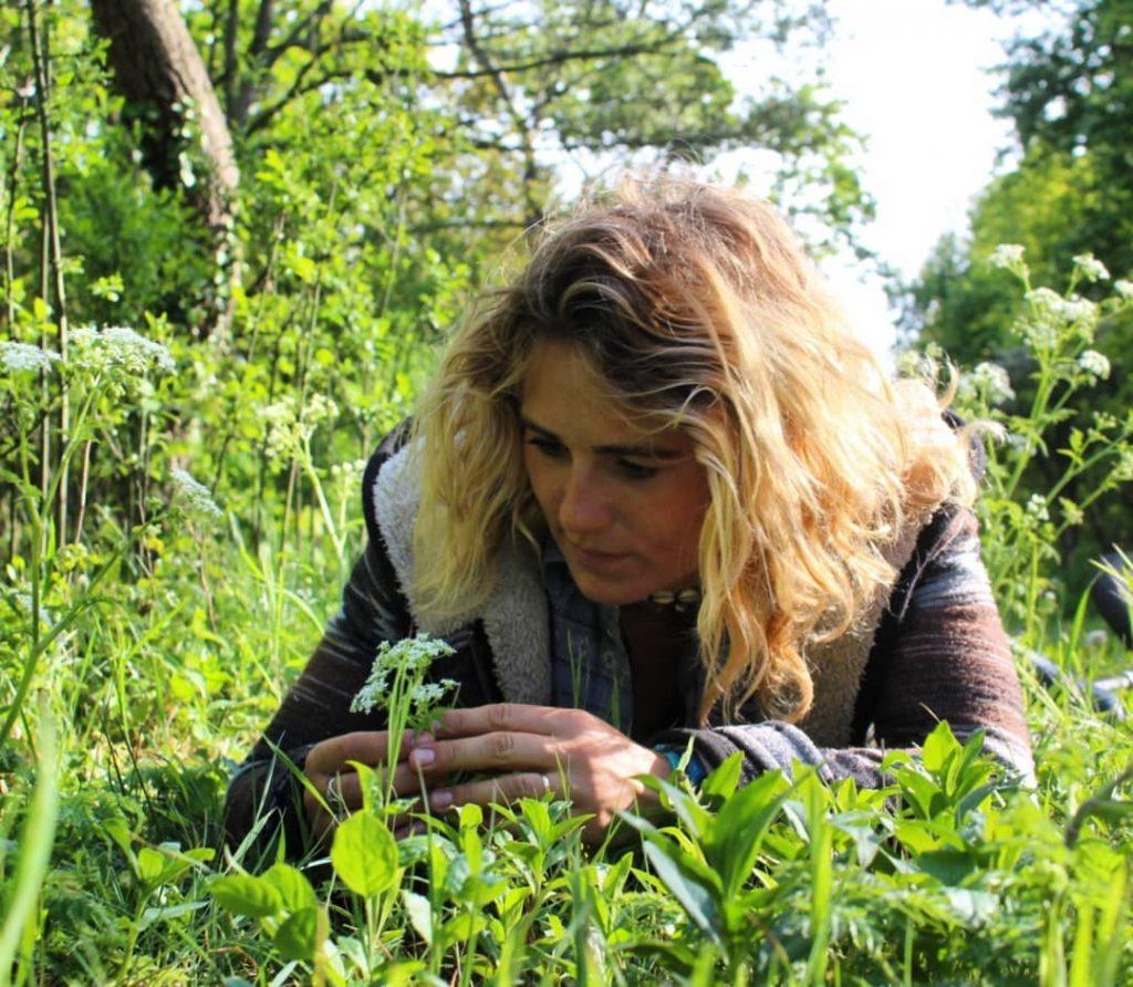 Anne in de natuur