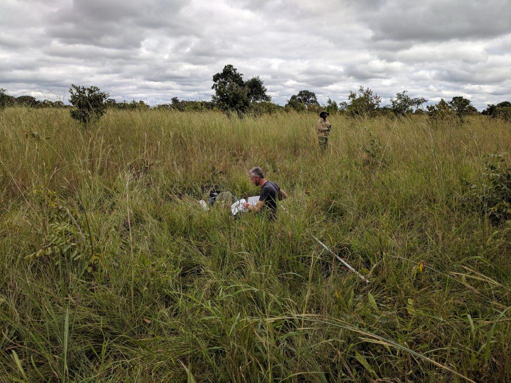 Tim van Hack the Planet in Zambia